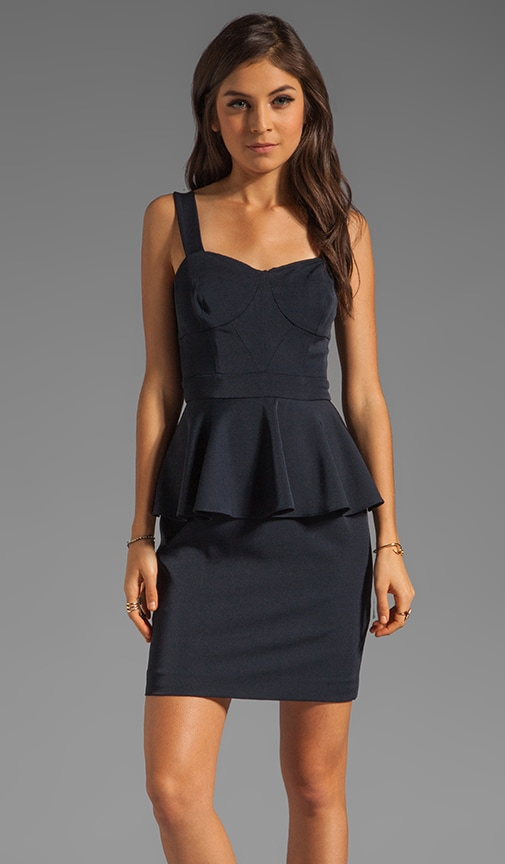 Deanna Peplum Dress