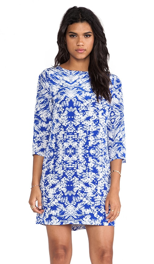 Kaleidoscope Print Meira Dress