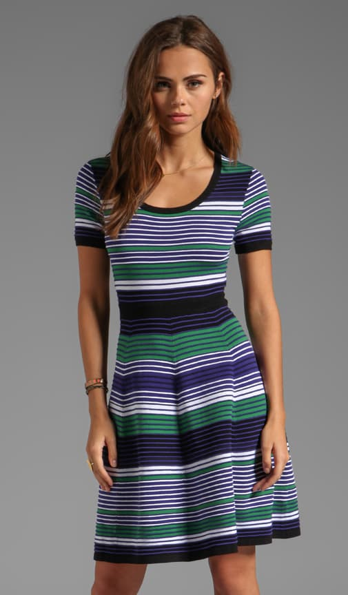 Pre-Fall Sweaters Striped Aviva Dress