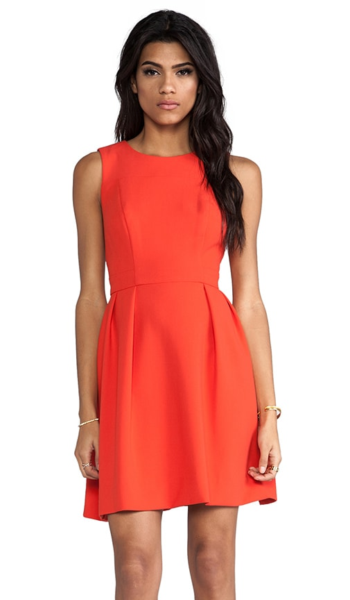 Double Crepe Allie Dress