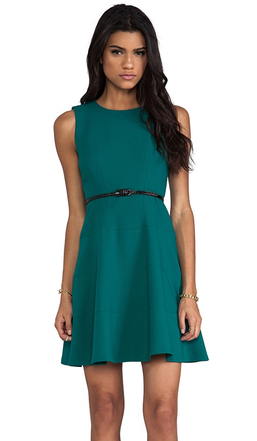 Double Crepe Joan Dress