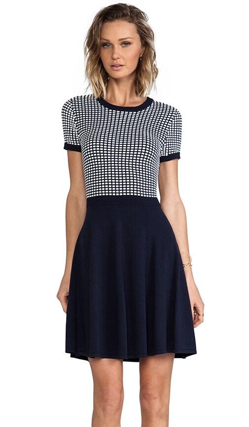 Silk Squares Hattie Sweater Dress