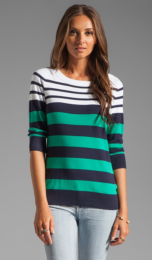 Striped Caroline Marioniere Sweater