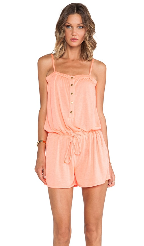 Solid Jersey Romper