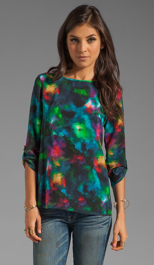 Celestial Watercolor James Blouse