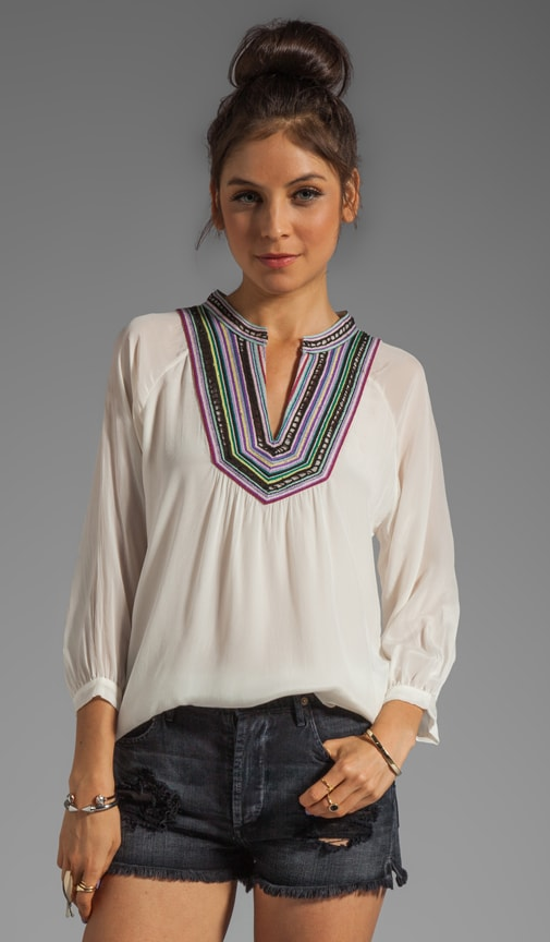 Embroidered Mona Blouse