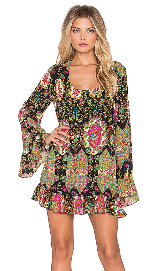 Show Me Your Mumu Margo Mini Dress in Merry Marigold