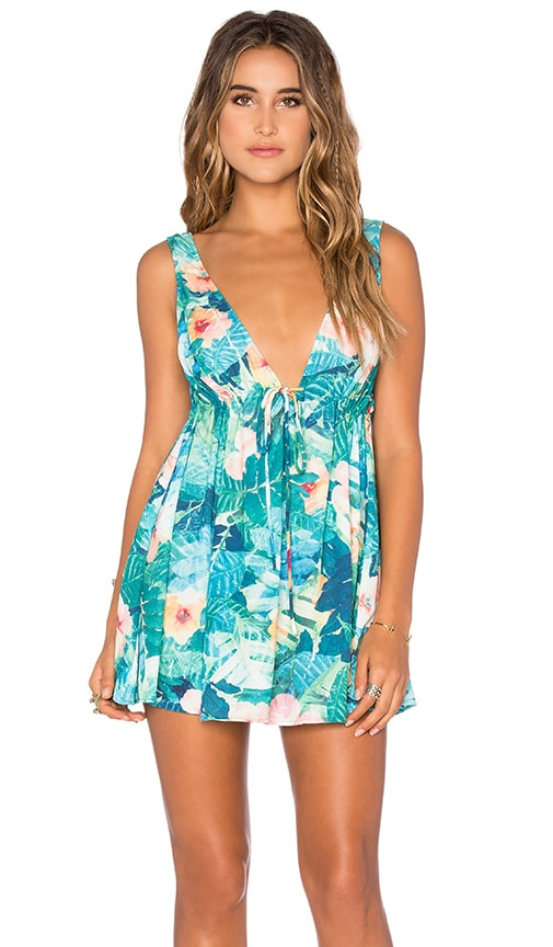 Show Me Your Mumu Sydney Dress in Teal