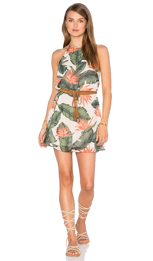 X REVOLVE Victoria Mini Dress in Green. - size L (also in M,S,XS) Show me your Mumu