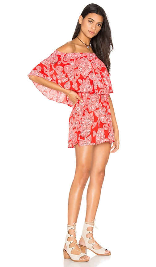 Show Me Your Mumu Casita Dress in Red