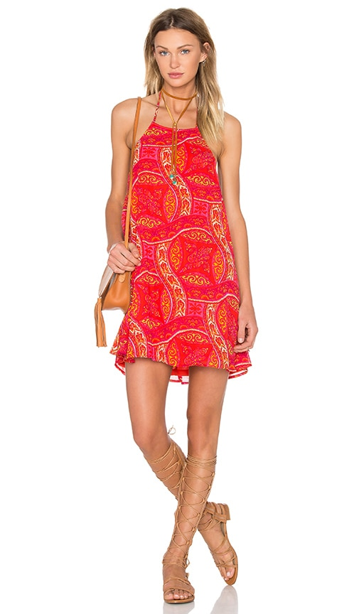Show Me Your Mumu Katy Dress in Red