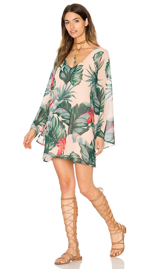 Show Me Your Mumu x REVOLVE Gabby Dress in Beige