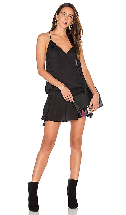 Show Me Your Mumu Lasso Dress in Black Cloud