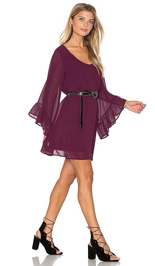 Show Me Your Mumu Boomerang Dress in Purple
