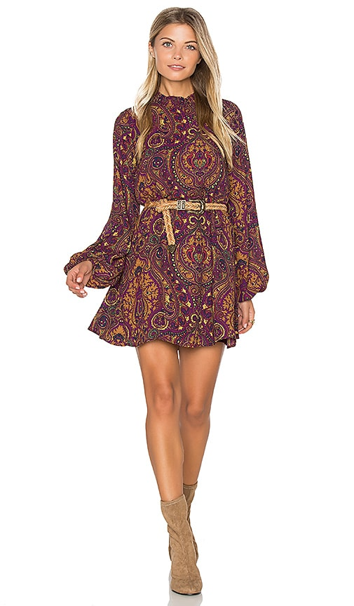 Show Me Your Mumu Junebug Dress in Purple