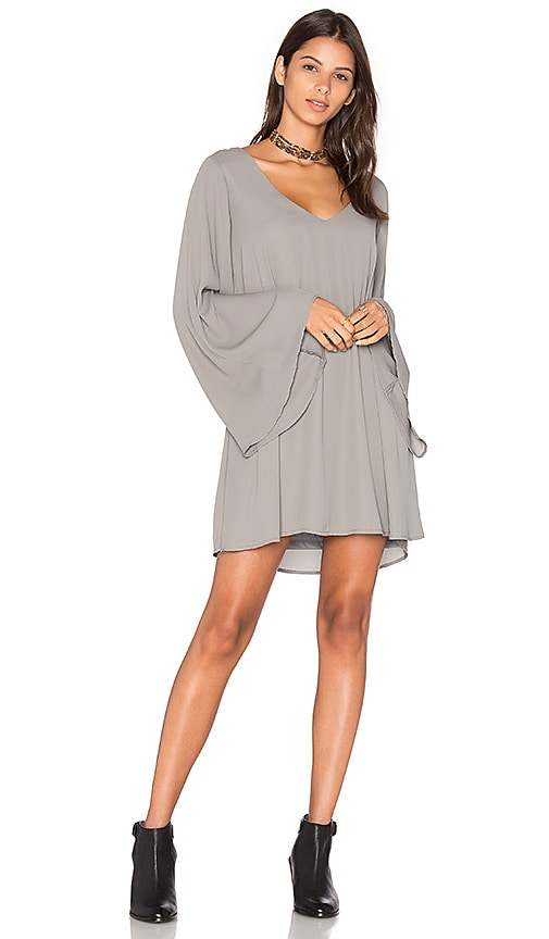 Show Me Your Mumu x REVOLVE Gabby Low Back Dress in Gray