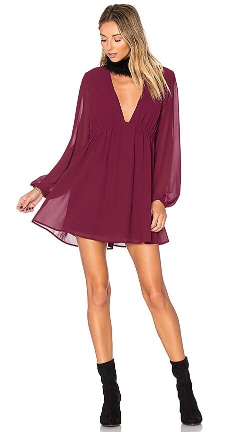 Show Me Your Mumu x REVOLVE Dakota Dress in Wine