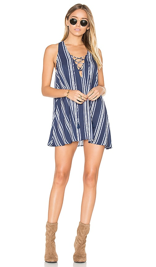 Rancho Mirage Lace Up Dress