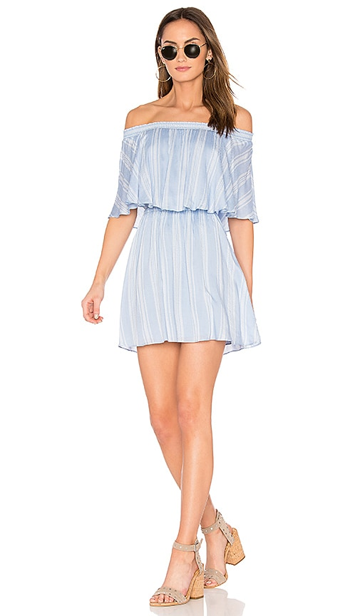 Show Me Your Mumu Casita Mini Dress in Blue
