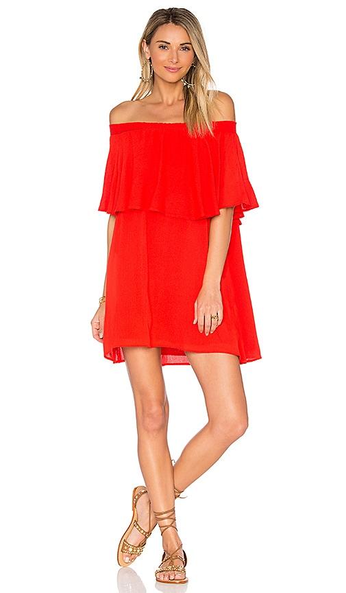 Show Me Your Mumu x REVOLVE Casita Mini Dress in Red