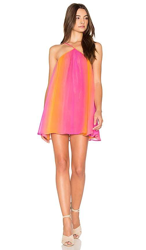 Show Me Your Mumu Lexington Mini Dress in Orange