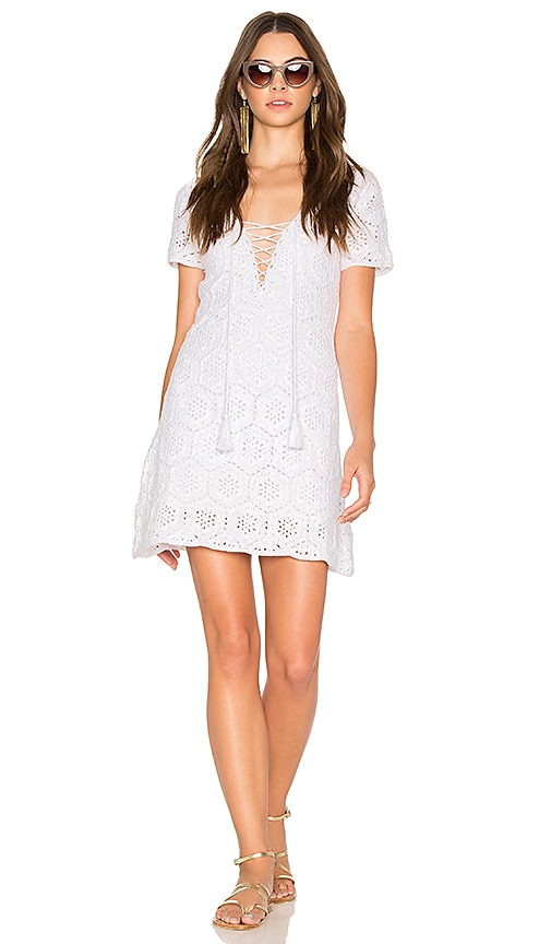 Show Me Your Mumu Palmer Dress in White