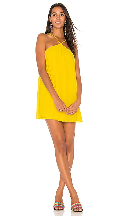 Show Me Your Mumu Lexington Mini Dress in Yellow