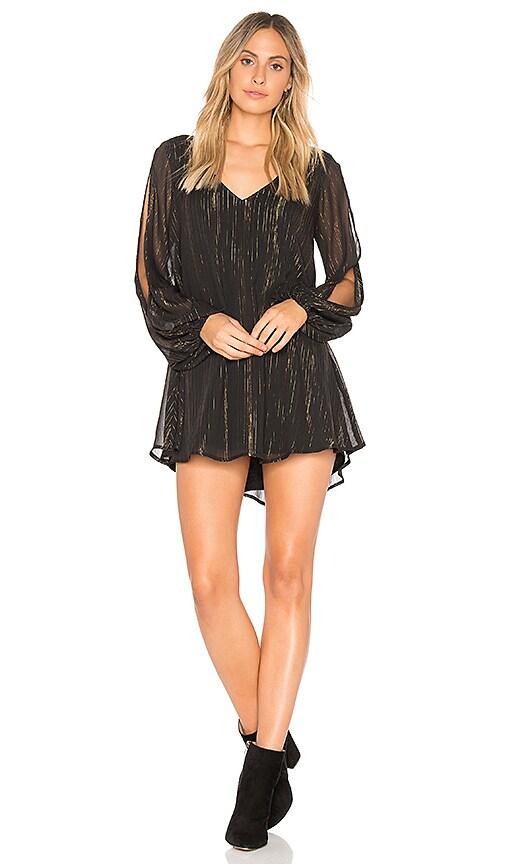 Show Me Your Mumu Tessa Tunic Dress in Black