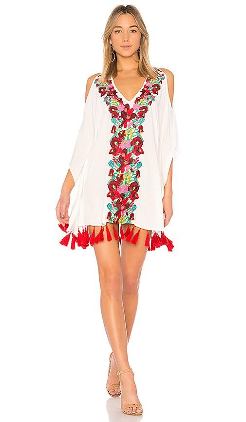 Show Me Your Mumu Jaden Tunic Dress in White