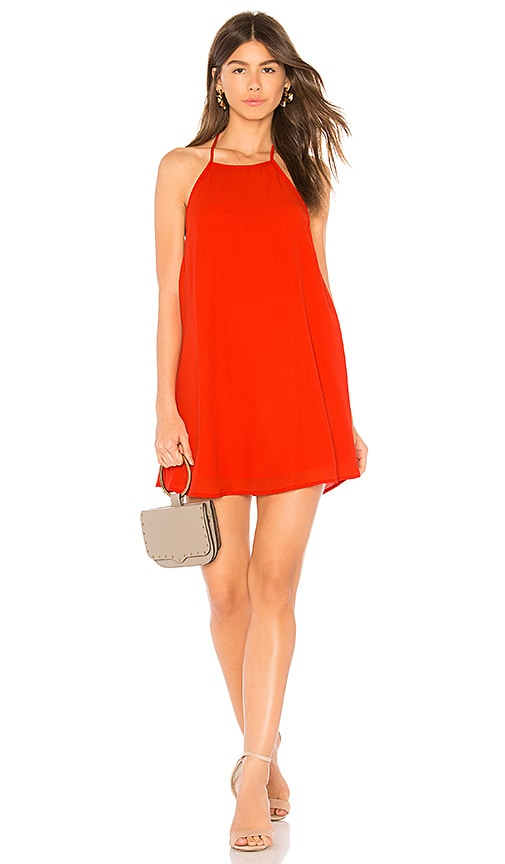 Show Me Your Mumu X REVOLVE Katy Halter Dress in Red