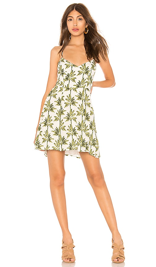 Show Me Your Mumu X REVOLVE Victoria Mini Dress in Green
