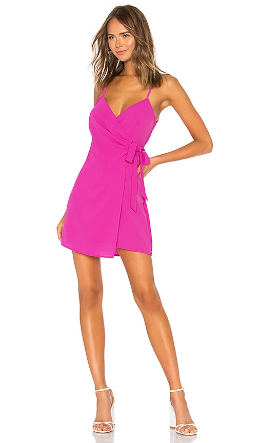 Say Jay Wrap Dress in Red. - size L (also in M,S,XS) Show me your Mumu
