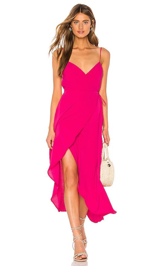 X REVOLVE Meghan Wrap Dress