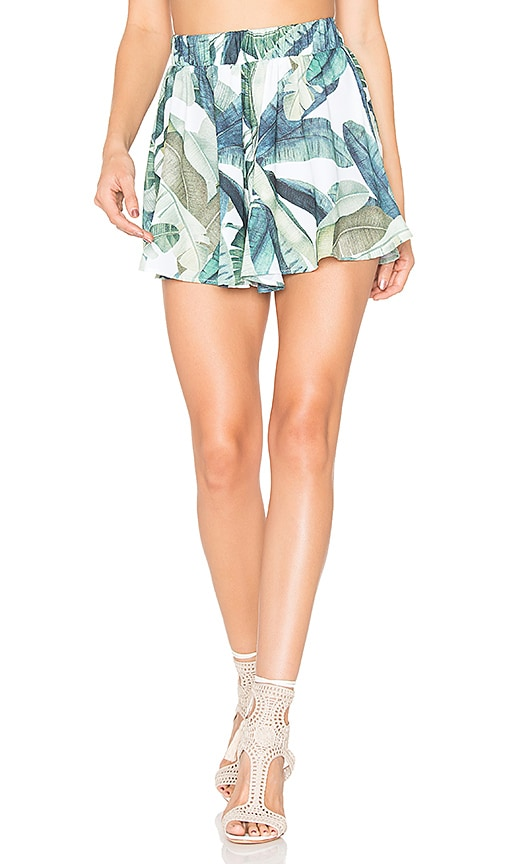 Show Me Your Mumu Carlos Swing Shorts in Green