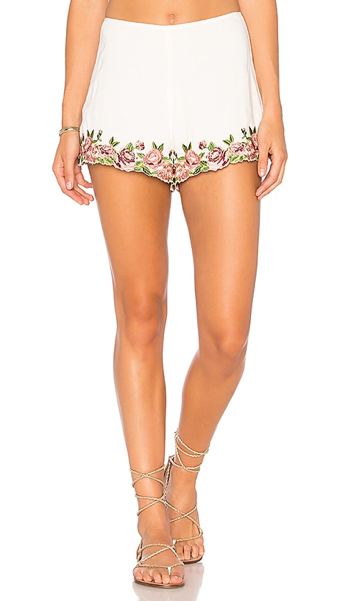 Show Me Your Mumu Ashton Shorts in White