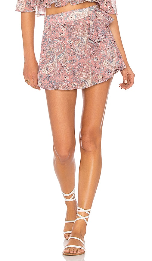 Show Me Your Mumu The Great Wrap Short in Pink