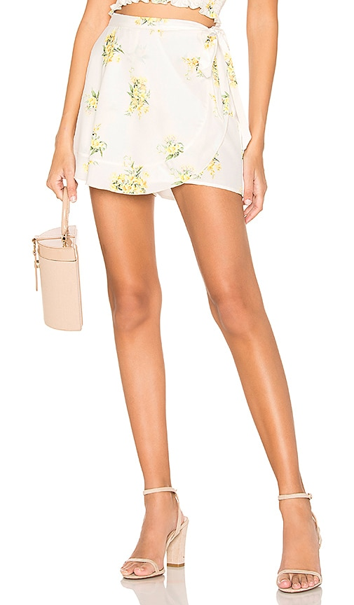 Ruffle Wrap Shorts