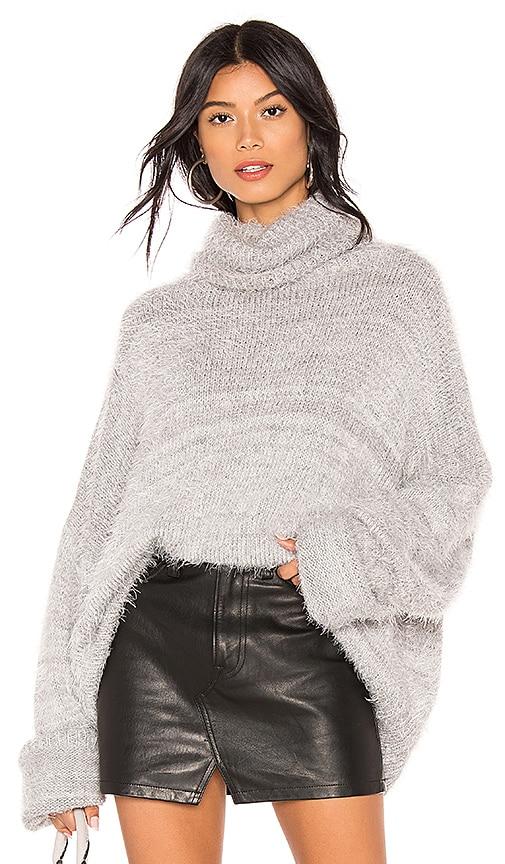 fc834c8896 Show Me Your Mumu Fatima Turtleneck Sweater in Fuzzy Vail