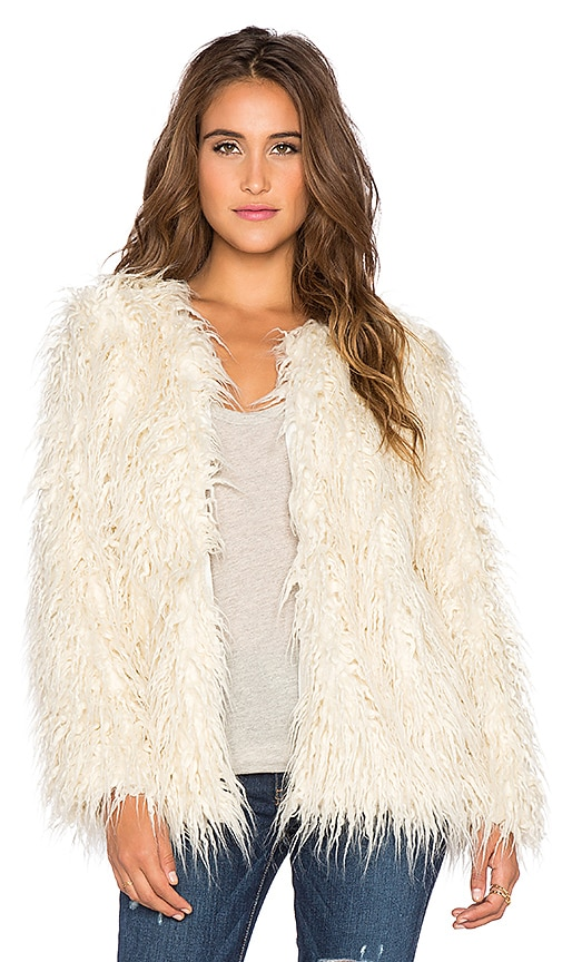 Bohemia Faux Fur Jacket