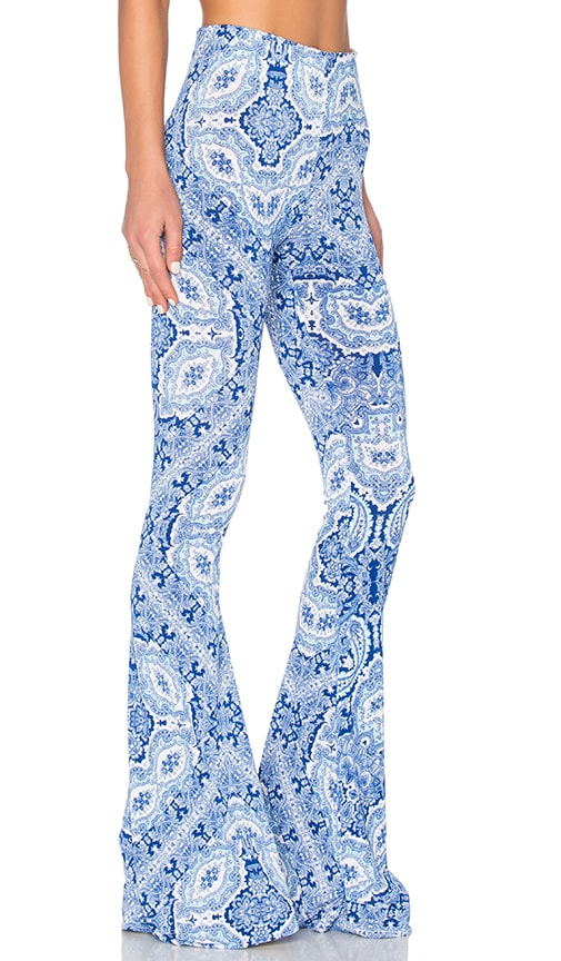Show Me Your Mumu Bam Bam Bell Pants in Blues's Mus Spandy