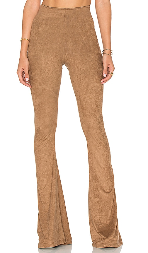 Show Me Your Mumu Bam Bam Bell Pants in Brown