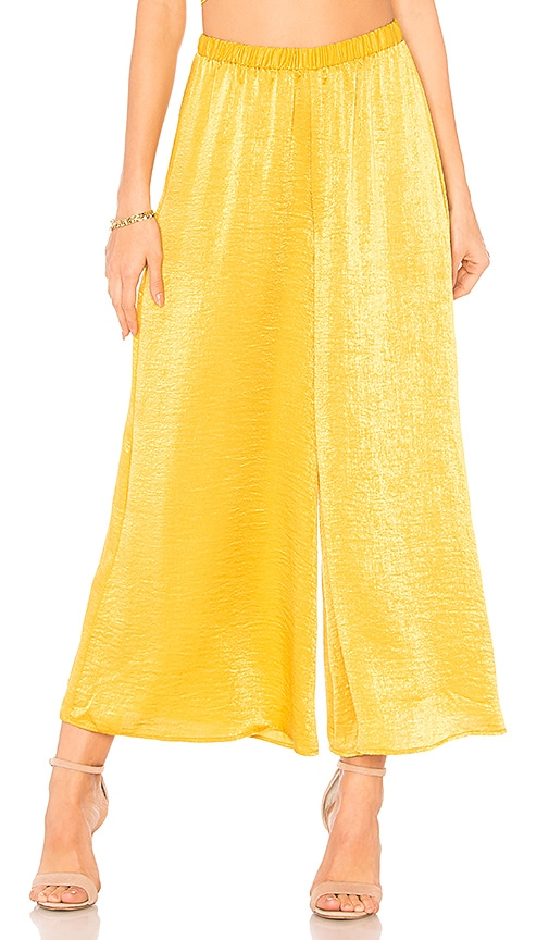 X REVOLVE Show Me Your Mumu Explorer Pants in Mustard