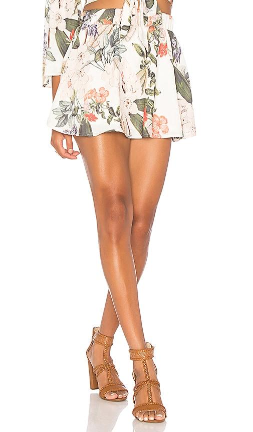 Show Me Your Mumu Carlita Mini Skirt in White