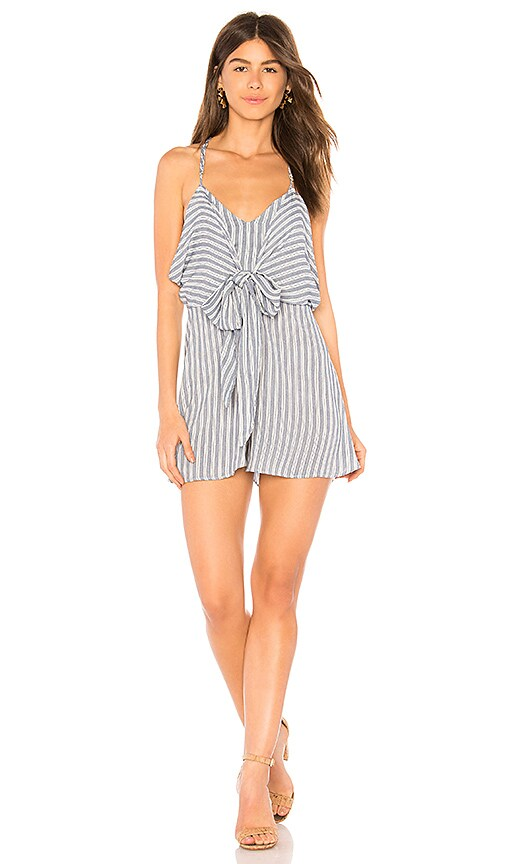 Show Me Your Mumu Melissa Romper in She Sails Stripes Flux