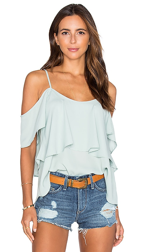 Show Me Your Mumu Romance Top in Green
