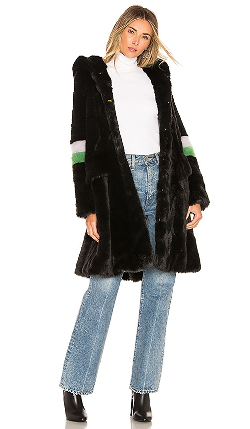 Heidi Faux Fur Coat