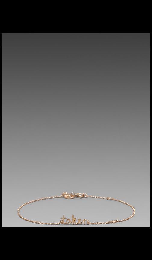 Taken Bracelet with Diamond Bezel