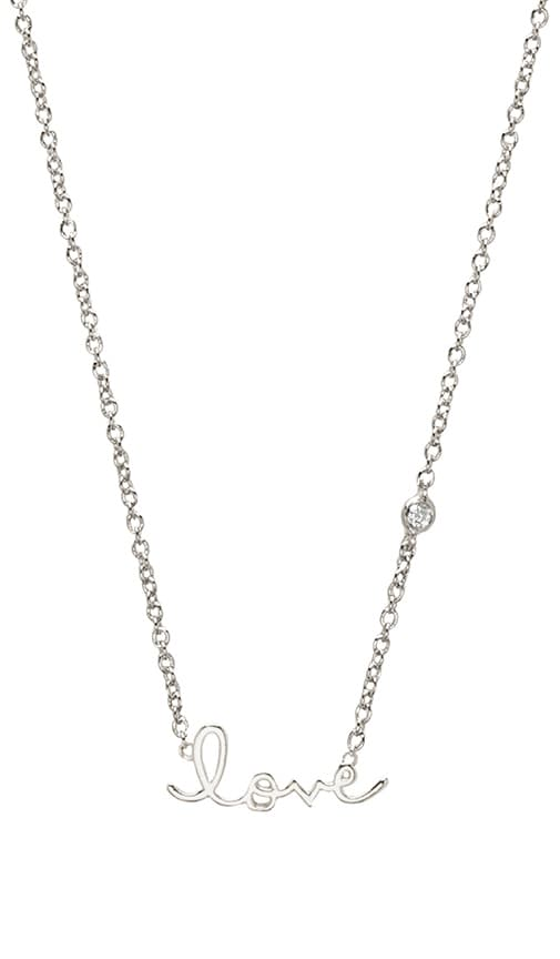 Love Necklace with Diamond