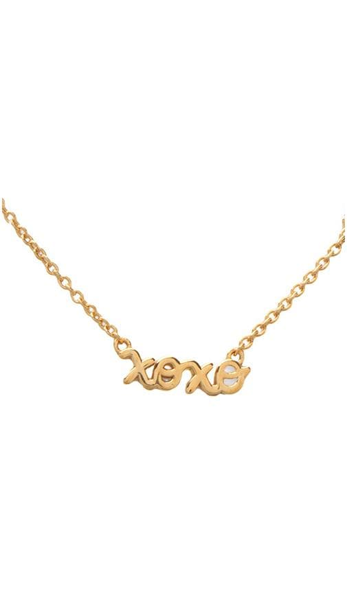 XOXO Necklace with Diamond