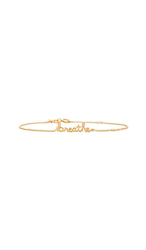 Breathe Bracelet with Diamond Bezel